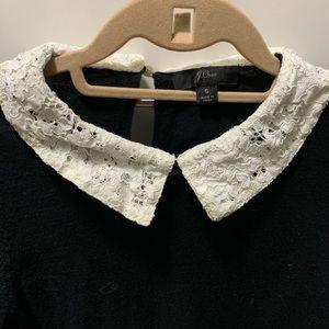 J Crew Peter Pan lace color sweater